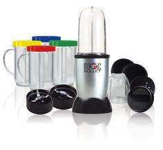 Amazon.com: Magic Bullet MBR-1701 17-Piece Express Mixing Set: Electric Countertop Blenders: Kitchen & Dining