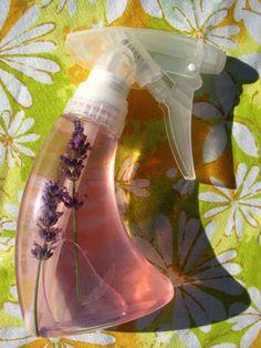 Make your own cat safe flea repellent.