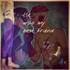 """He was my best friend."" Wally West and Dick Grayson"