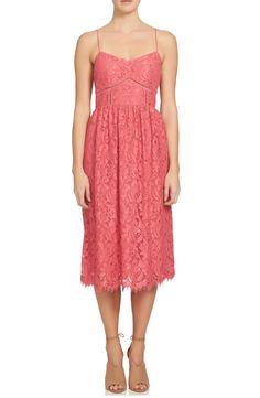 Main Image - CeCe Aurora Lace Midi Dress