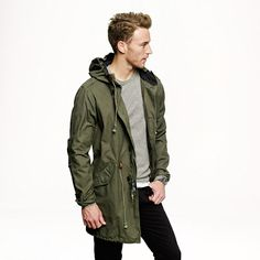 Cotton Fishtail Parka | MDS Store- New Men&39s | Pinterest