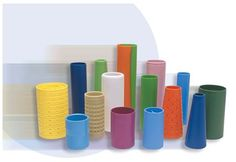 Specialty Cones & Cylinders from our Textube proprietary product line Plastic Injection, Products, Gadget