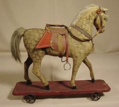 PULL TOY HORSE