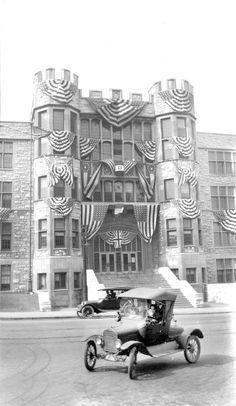 1918 Hume Fogg High School Nashville Tn Tennessee Waltz Music City