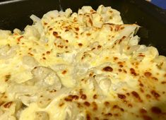 keto cauli cheese bake