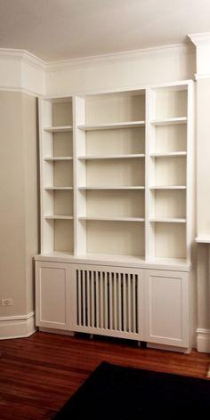 Bookcase w radiator                                                                                                                                                                                 More
