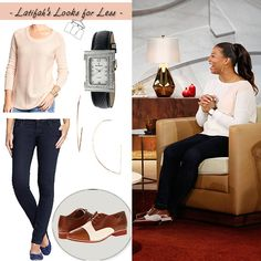 Winter white :) | My Look for Less: Tuesday, November 25, 2014 | Queen Latifah