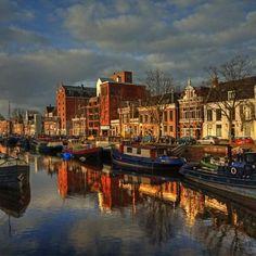 Noorderhaven. Groningen. The Netherlands.