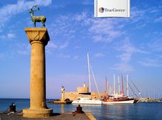 #Autumn greetings from the #iconic Mandraki harbor in #Rhodes! #TrueGreece #Travel #Luxury #Vacation #Greece