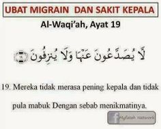 Ayat suci Al-Quran bagi menyembuhkan sakit kepala, migraine Pray Quotes, Hadith Quotes, Muslim Quotes, Quotes To Live By, Beautiful Quran Quotes, Islamic Love Quotes, Islamic Inspirational Quotes, Doa Islam, Islam Muslim