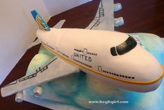 Image Detail for - Airplane cake