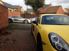 911 and Cayman S by Porsche