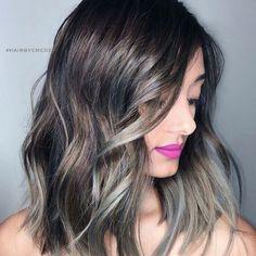 Hair Color Shades, Cool Hair Color, Hair Colour, Balayage Brunette, Balayage Hair, Elegant Hairstyles, Cool Hairstyles, Best Brunette Hair Color, Stylish Hair