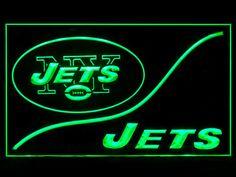 New York Jets Cool Display Shop Neon Light Sign
