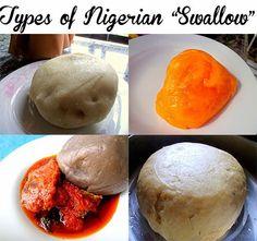 "Dobbys Signature: Nigerian food blog   Nigerian food recipes   African food blog: Types of Nigerian ""swallow"" for soup"