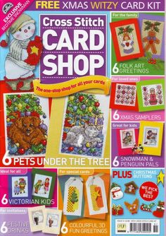 lots of designs -  Cross_Stitch_Card_Shop_Issue51 - svjuly
