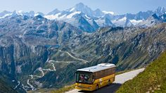 Switzerland...take a Post bus anywhere
