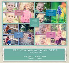 ATP. Color Actions SET 9 by AllThingsPrecious.deviantart.com on @DeviantArt