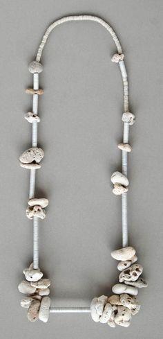 Jewelry by Kay Sekimachi and Kiff Slemmons at Velvet da Vinci Gallery,
