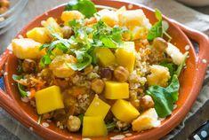 Bulghur mango salade met hazelnoten