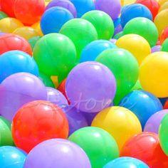 100 Cái 7 cm Đầy Màu Sắc Bóng Fun Bóng Mềm Nhựa Dương Bi Bé Kid Toy Swim Đồ Chơi