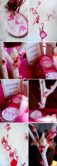 Et ønsketre til brudeparet - vakkert minne fra bryllupet
