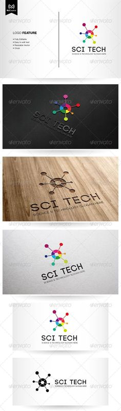 Science and Technology Logo #GraphicRiver The logo is vector format so you can re-sized without losing the quality.  Included in the download  • Ai File (cs3 or later) • EPS10  Free fonts used in the design:  • Code – fontfabric /code-free-font-3/ • Nexa – fontfabric /nexa-free-font/ Created: 17June13 GraphicsFilesIncluded: JPGImage #VectorEPS #AIIllustrator Layered: No MinimumAdobeCSVersion: CS3 Resolution: Resizable Tags: AtomLogo #ScienceAndTechnology #abstractglobe #colorfullogo…
