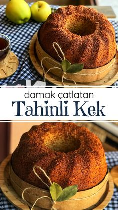 Damak Çatlatan Tahinli Kek – Nefis Yemek Tarifleri How to make a Damak-Cracking Tahini Cake Recipe? Illustrated explanation of this recipe in the book of people and photos of those who have tried here. Tahini, Protein Breakfast, Breakfast Recipes, Diabetic Recipes, Vegetarian Recipes, Delicious Recipes, Mamma Mia, Desert Recipes, Food Items