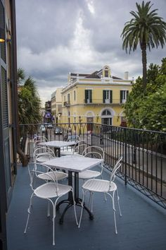 11 great balcony bars in New Orleans for al fresco sipping, people watching New Orleans Bars, Balcony Bar, Louisiana Homes, Restaurant Patio, Sight & Sound, Patio Dining, French Quarter, Building, Outdoor Decor