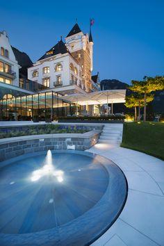 Park Hotel Vitznau, Lake Lucerne, Switzerland