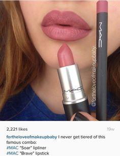 *~* MAC lipstick *~* #LipstickForFairSkin Makeup 101, Love Makeup, Mac Makeup Looks, Makeup Is Life, Makeup Dupes, Makeup Lipstick, Makeup Goals, Hair Makeup, Beauty Makeup