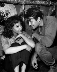 """whiteboysdatingblackgirls: """" Dorothy Dandridge and co-star Stuart Whitman in the 1958 movie 'The Decks Ran Red' Some interesting facts about Dorothy Dandridge: She is one of the key actresses whom. Old Hollywood Glamour, Vintage Hollywood, Classic Hollywood, Hollywood Stars, Kate Jackson, Jaclyn Smith, Marilyn Monroe, Stuart Whitman, Dorothy Dandridge"""