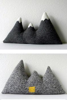 #82 Mountain Pillow