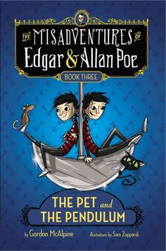 Back in Baltimore, twelve-year-old identical twins Edgar and Allan think they have encountered the ghost of their great-great-great-great granduncle, Edgar Allan Poe, asking them to solve his murder--but really it is their arch-nemesis, Professor Perry, looking for revenge.