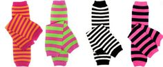 """Bright Stripes 4 pack girls baby and toddler leg warmers by juDanzy, 12"""" socks juDanzy,http://www.amazon.com/dp/B00BCDT5UU/ref=cm_sw_r_pi_dp_hA4ttb0QY440F1DA"""