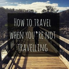 Are you counting down the days/hours/minutes until your next holiday? Here's how to travel the world without leaving the comfort of home. Travel Advice, Travel Tips, Travelling Tips, Travel Hacks, Traveling, Travel Pictures, Cool Pictures, Travel Around The World, Around The Worlds