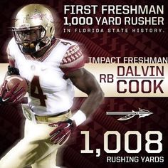 Great freshman year for Dalvin Cook!
