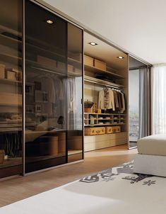 Maximize your storage and create a coordinated look by building your own sliding door wardrobe. Wardrobe Room, Wardrobe Design Bedroom, Modern Bedroom Design, Home Room Design, Home Interior Design, House Design, Wardrobe Storage, Wardrobe Organisation, Walk In Wardrobe