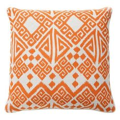 Tangier Orange Pillow