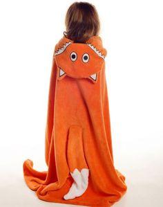 Fox Critter Kids Blanket - Critter Blankets - Kids