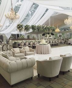 neutral-hued and greenery-filled tented wedding lounge area ideas wedding decorations 20 Creative Wedding Reception Lounge Area Ideas - Page 3 of 3 - Oh Best Day Ever Wedding Reception Layout, Wedding Lounge, Tent Wedding, Wedding Reception Decorations, Wedding Colors, Wedding Venues, Dream Wedding, Wedding Ideas, Reception Invitations