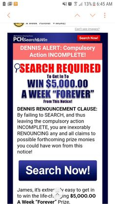 Im searching everything everywhere Search Everything, 10 Million Dollars, Winner Announcement, Michael Collins, Congratulations To You, Publisher Clearing House, Enter To Win, Clams, Searching