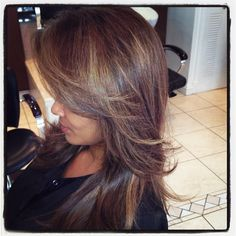 My colorist @Miranda SoBe went a little deeper with my color today! I love! - @Evelyn Lozada Johnson- #webstagram