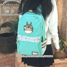 2017 natsume yuujinchou Neko Sensei Cat Face Kawaii   for Women Anime Canvas totoro Backpack School Bags for Teenage Girls