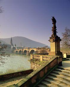 """willkommen-in-germany: """"Heidelberg, Alte Brücke """""""