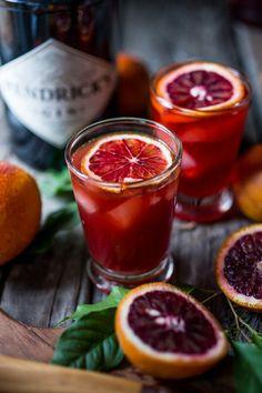 Blood Orange Negroni   /   FaH