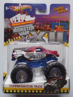Hot Wheels Monster Jam WORLD FINALS XII Monster Truck 1:64 diecast   #HotWheels #WorldFinalsXII