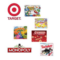 Hasbro Printable Coupons and Great Deals on Board Games at Target!!   http://www.coupondad.net/hasbro-coupons-target-deal-board-games/  #games #coupons
