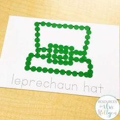 Celebrate St. Patrick's Day with your preschoole, kindergarten, or homeschool students with these 10 St. Patrick's Day fine motor skills activities. The activities can be used multiple ways, but they help develop fine motor skills of prek or kinder students. These low-prep activities may require some prep work like laminating, and they are perfect for small groups, morning tubs, centers, or any time you want your students to practice their skills this spring. #StPatricksDay #FineMotor #Kinder