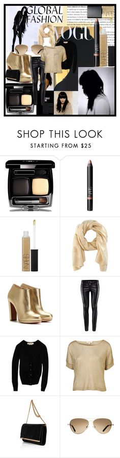"""""""8.16.12"""" by flightwizard121 ❤ liked on Polyvore featuring Chanel, NARS Cosmetics, Haider Ackermann, Christian Louboutin, H&M, Marni, Goldie, Emilio Pucci and TOMS"""